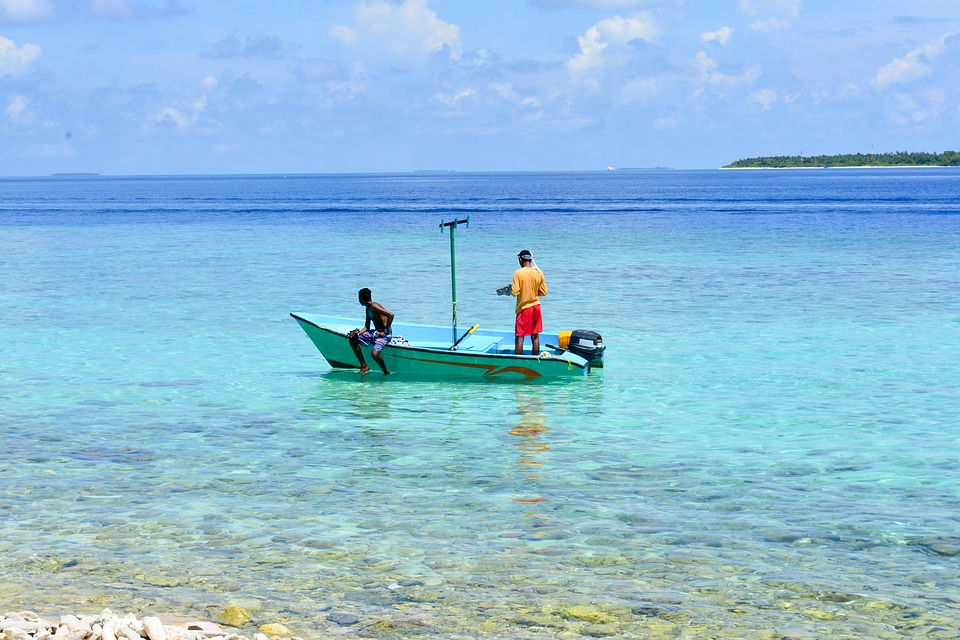 Maldives Fishing Boat