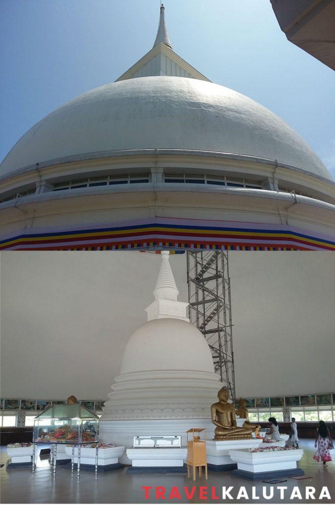 kalutara hollow stupa