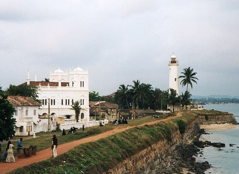 Srilanka galle fort | Image Credit - Krankman assumed (based on copyright claims), CC BY-SA 2.5 Via Wikimedia Commons