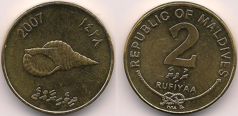Maldives coins